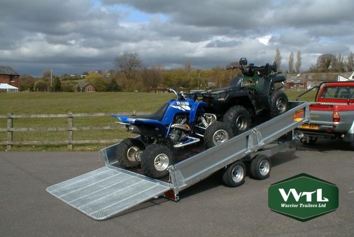 Bateson At36 Hydraulic Tilt Trailer  U2013 Warrior Trailers Ltd