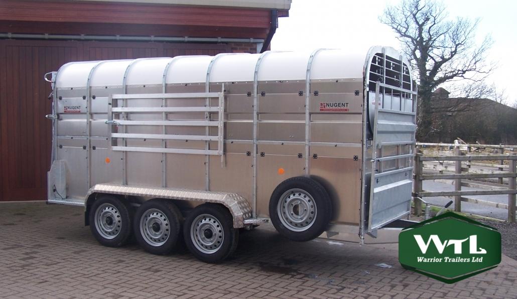 Nugent Livestock Trailers  U2013 Warrior Trailers Ltd