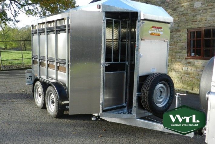 Eurostock 326 Livestock Trailer  U2013 Warrior Trailers Ltd