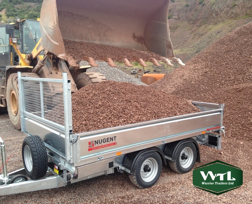 Nugent Tipper Trailers  U2013 Warrior Trailers Ltd