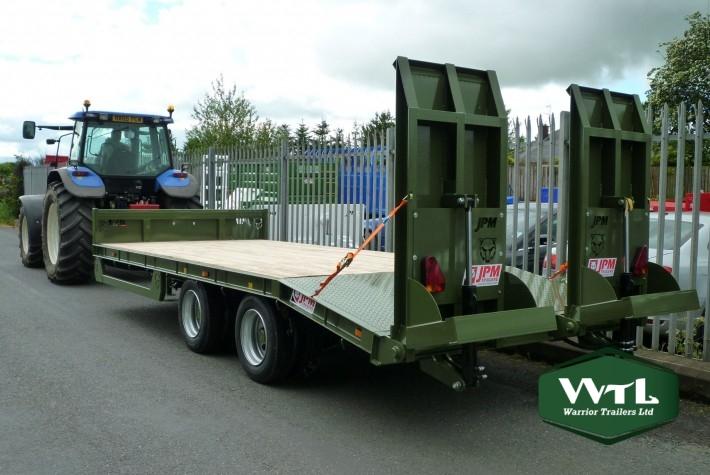 tandem axle low loader trailers  u2013 warrior trailers ltd