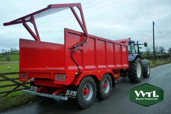 Multi Purpose Tipping Trailer  U2013 Warrior Trailers Ltd