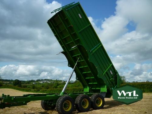 Silage    Grain Trailer  U2013 Warrior Trailers Ltd