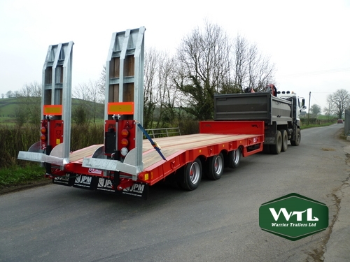 Tri Axle Low Loader  U2013 Warrior Trailers Ltd