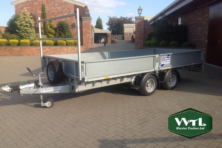 Ifor Williams 14 U2032 X 6 U20196 U2033 Flatbed Trailer Lm146g  U2013 Sold  U2013 Warrior Trailers Ltd