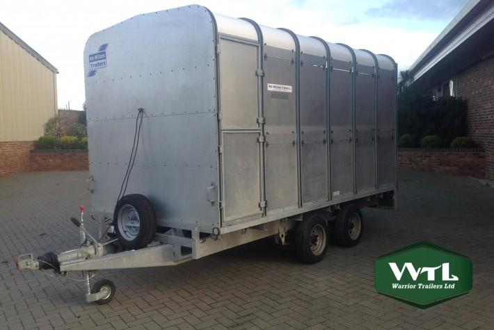 Ifor Williams Dp120 12 U2032 Livestock Trailer  U2013 Sold  U2013 Warrior
